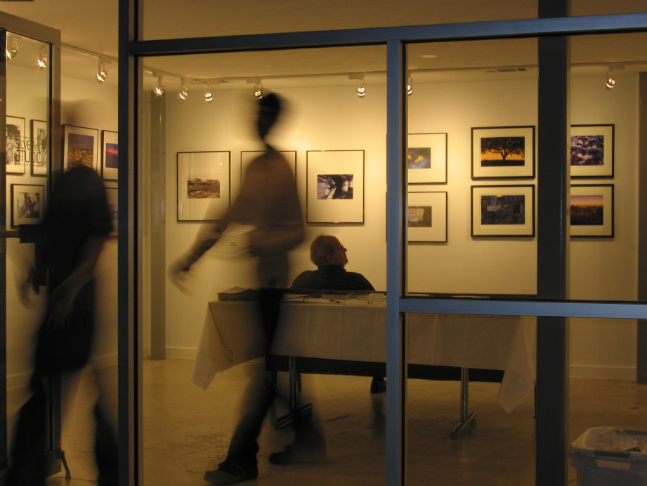 Fotofest gallery blur