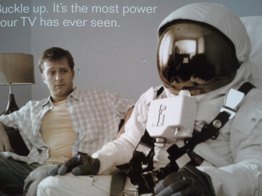 astronaut mailer sofa guy