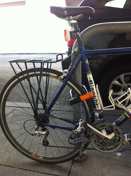 bike lock proper