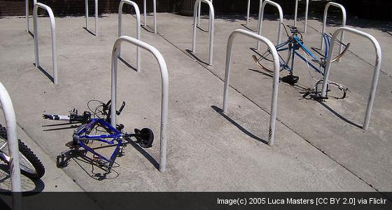 stripped bikes