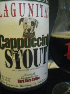 Lagunitas Cappucino Stout coffee beer