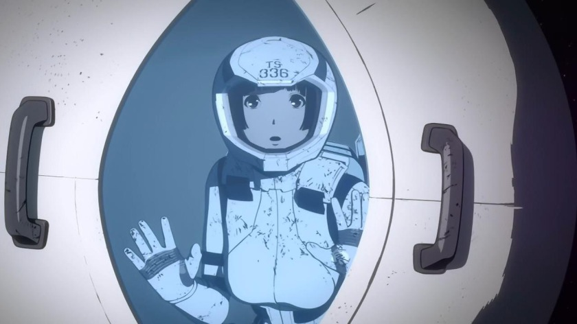 Knights of Sidonia lifeboat pod