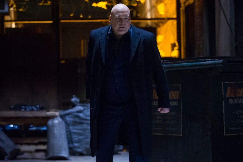 "VINCENT D'ONOFRIO as WILSON FISK in the Netflix Original Series ""Marvel's Daredevil"" Photo: Barry Wetcher © 2014 Netflix, Inc. All rights reserved."